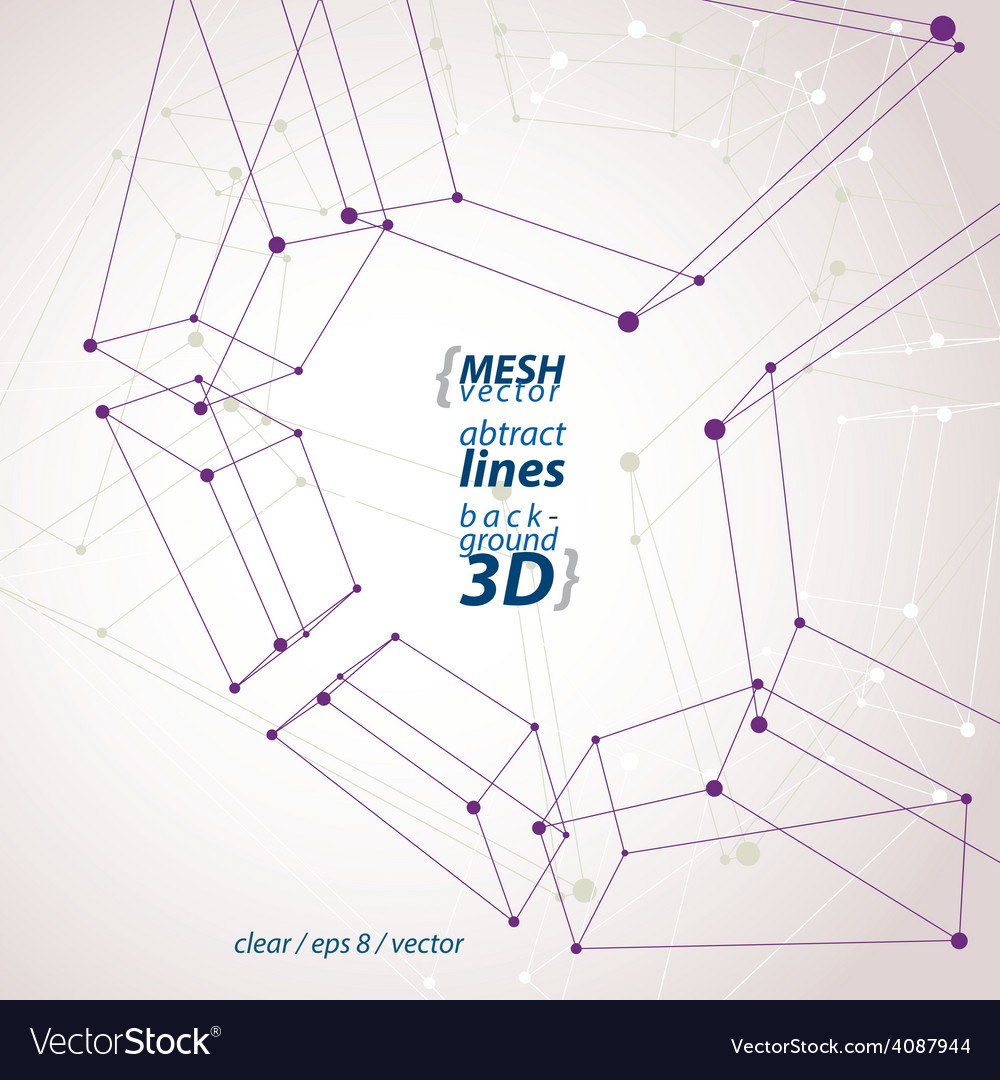 Collection of dimensional tech square construction vector   Price: 1 Credit (USD $1)