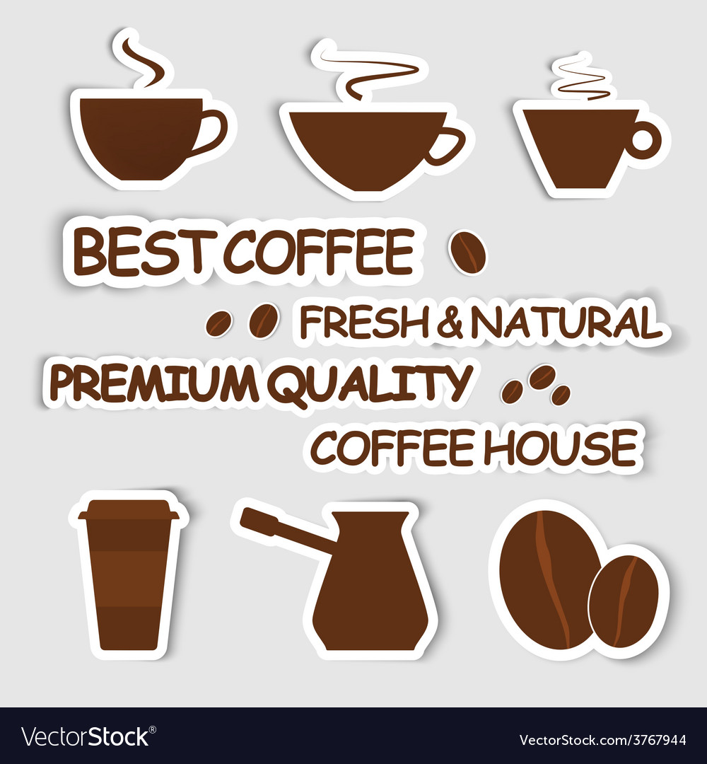 Design coffee vector | Price: 1 Credit (USD $1)