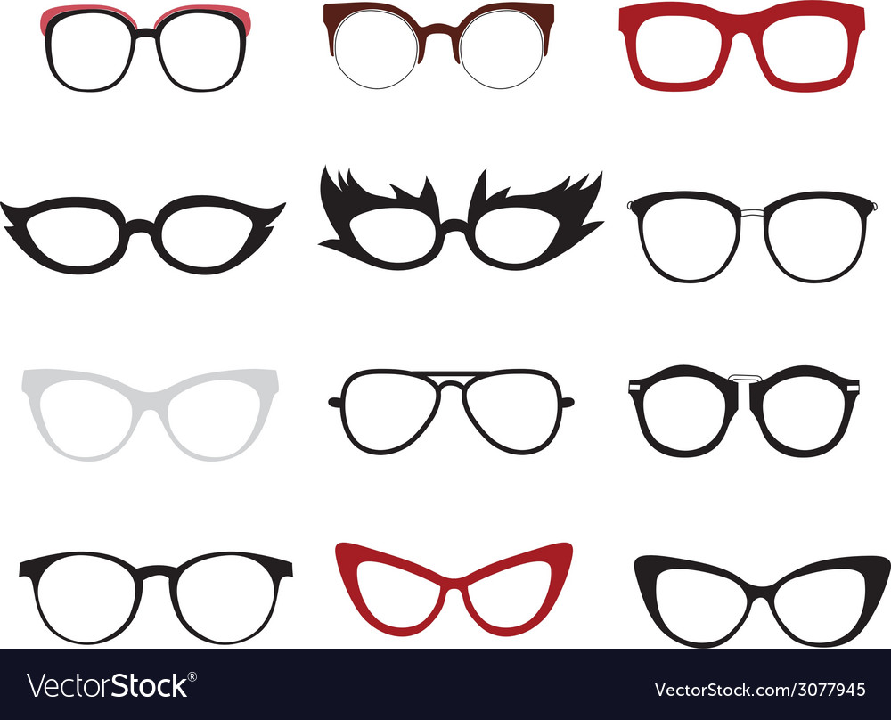 Glasses itog vector | Price: 1 Credit (USD $1)