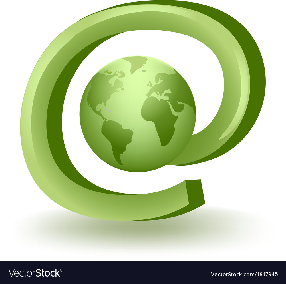 Global mail vector | Price: 1 Credit (USD $1)