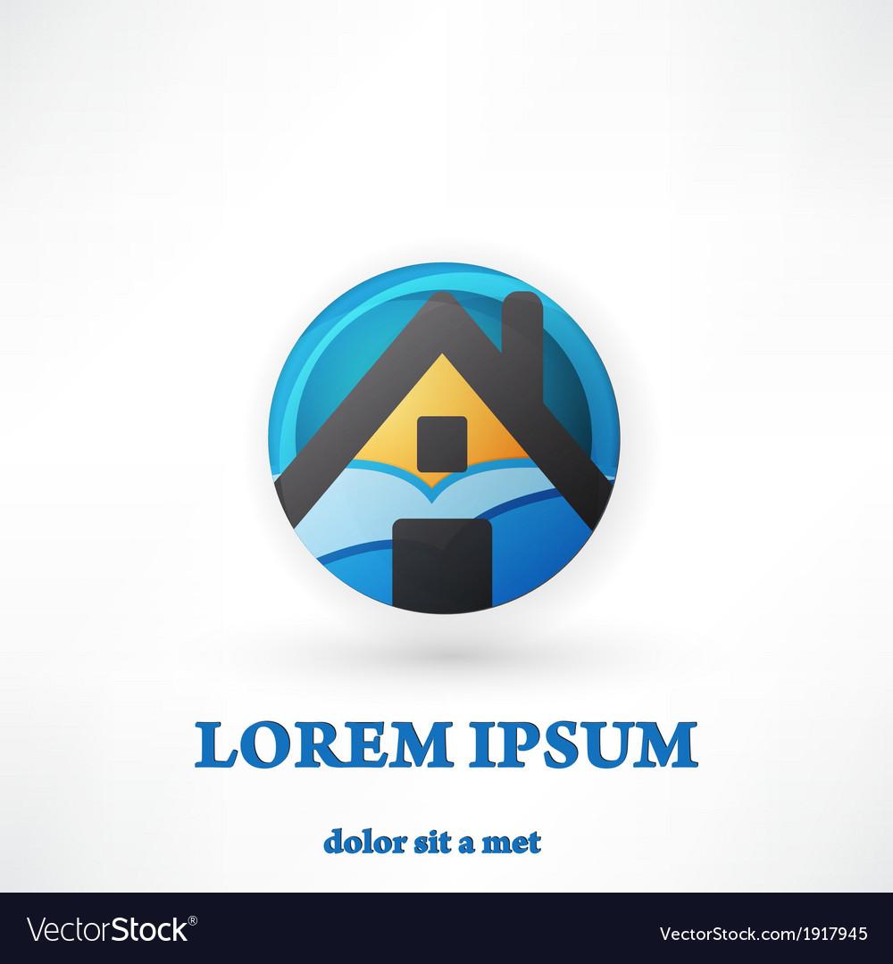 House symbol vector | Price: 1 Credit (USD $1)