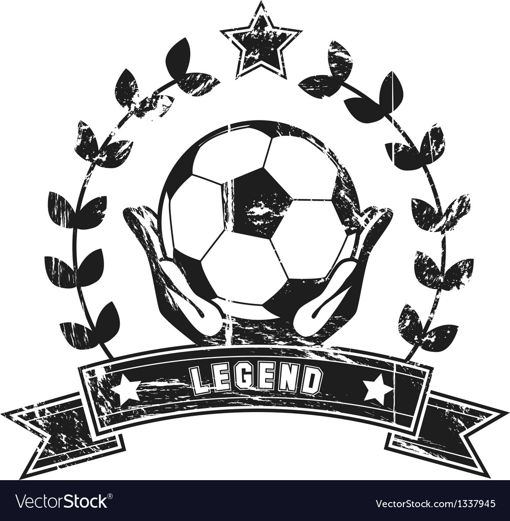 Soccer legend vector | Price: 1 Credit (USD $1)
