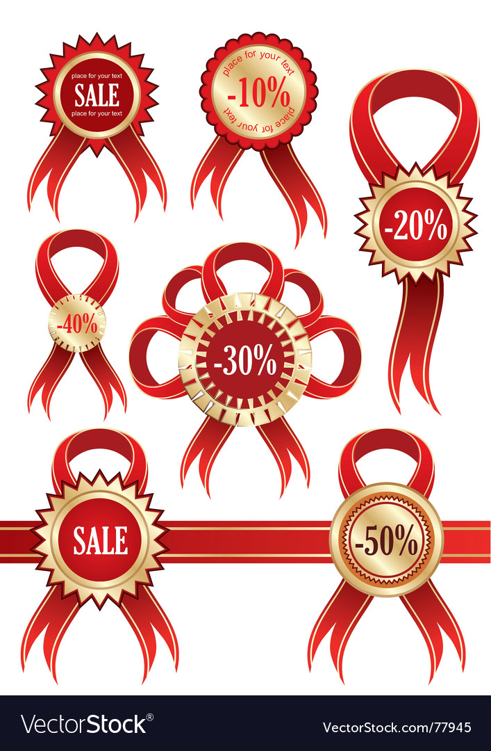 Stickers labels vector | Price: 1 Credit (USD $1)