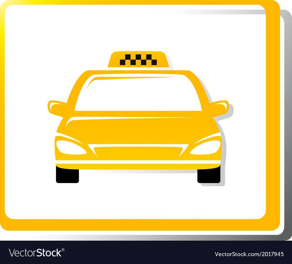 Taxi car image vector   Price: 1 Credit (USD $1)