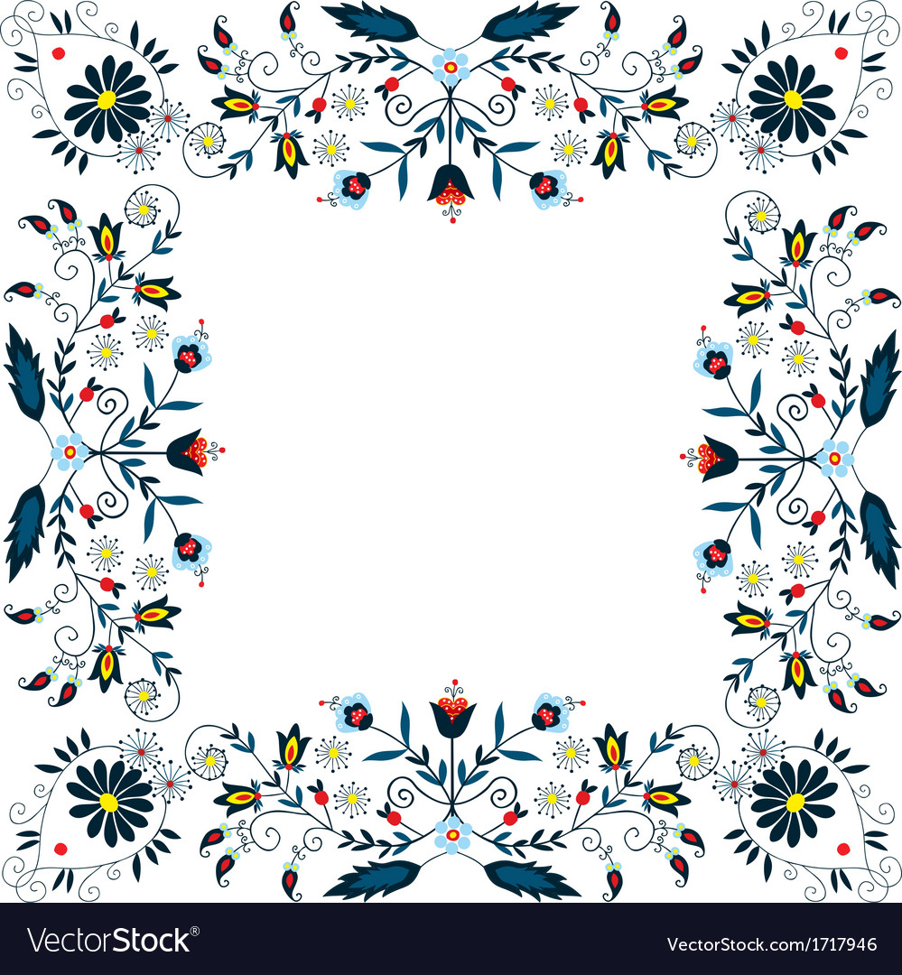 Folk label two vector | Price: 1 Credit (USD $1)
