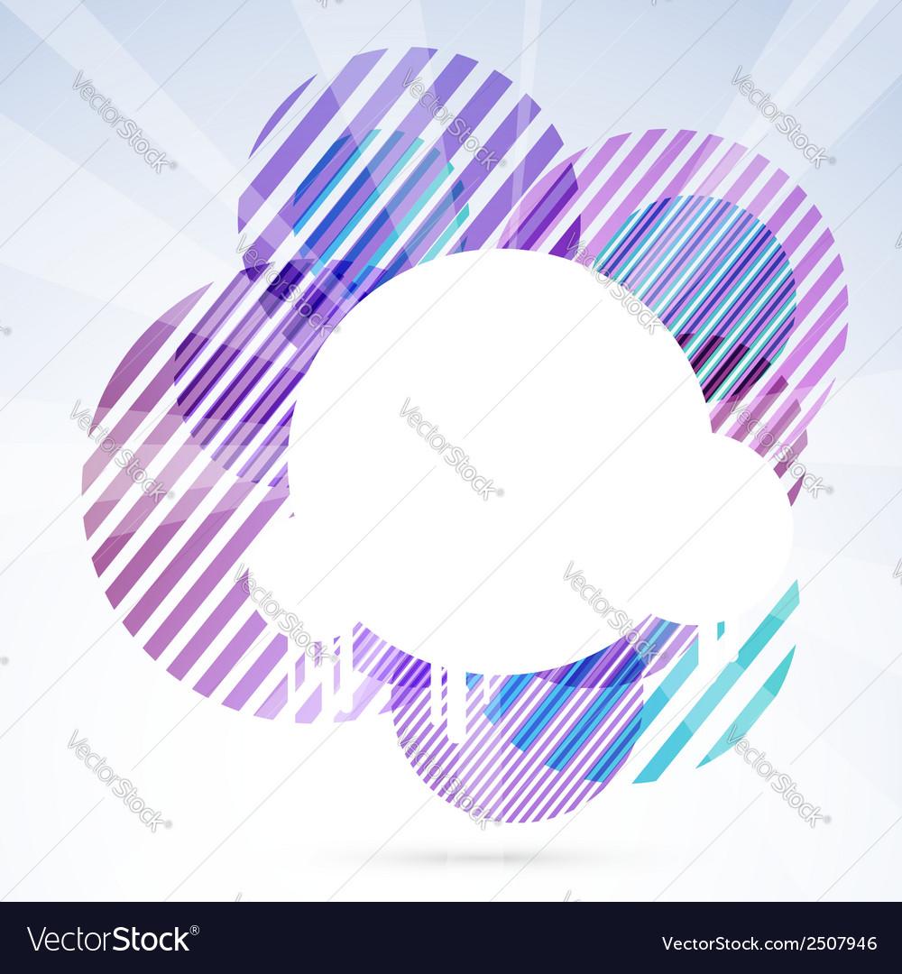 Modern purple round designed sign element vector | Price: 1 Credit (USD $1)