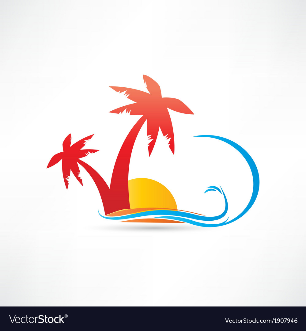 Palm rest icon vector | Price: 1 Credit (USD $1)
