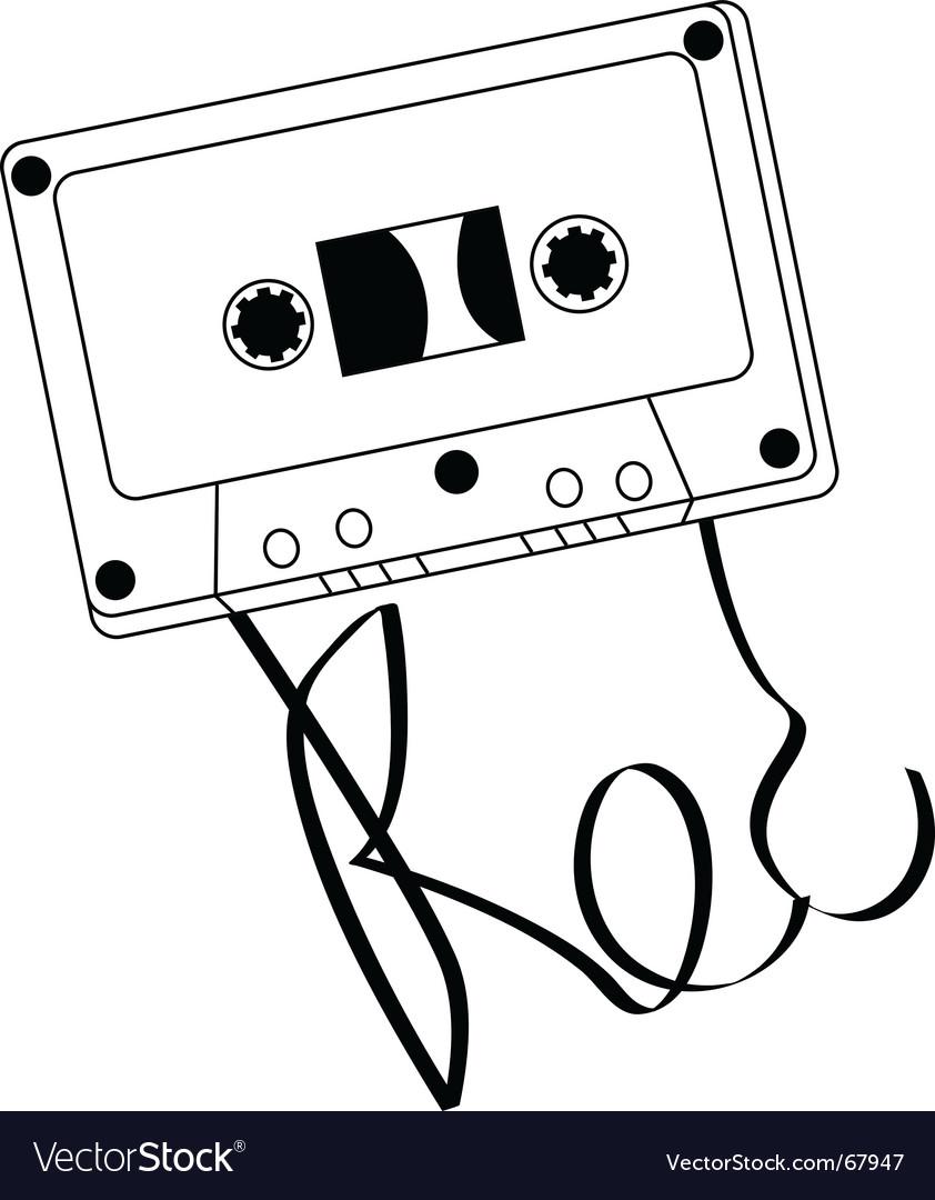 Audio cassettes vector   Price: 1 Credit (USD $1)