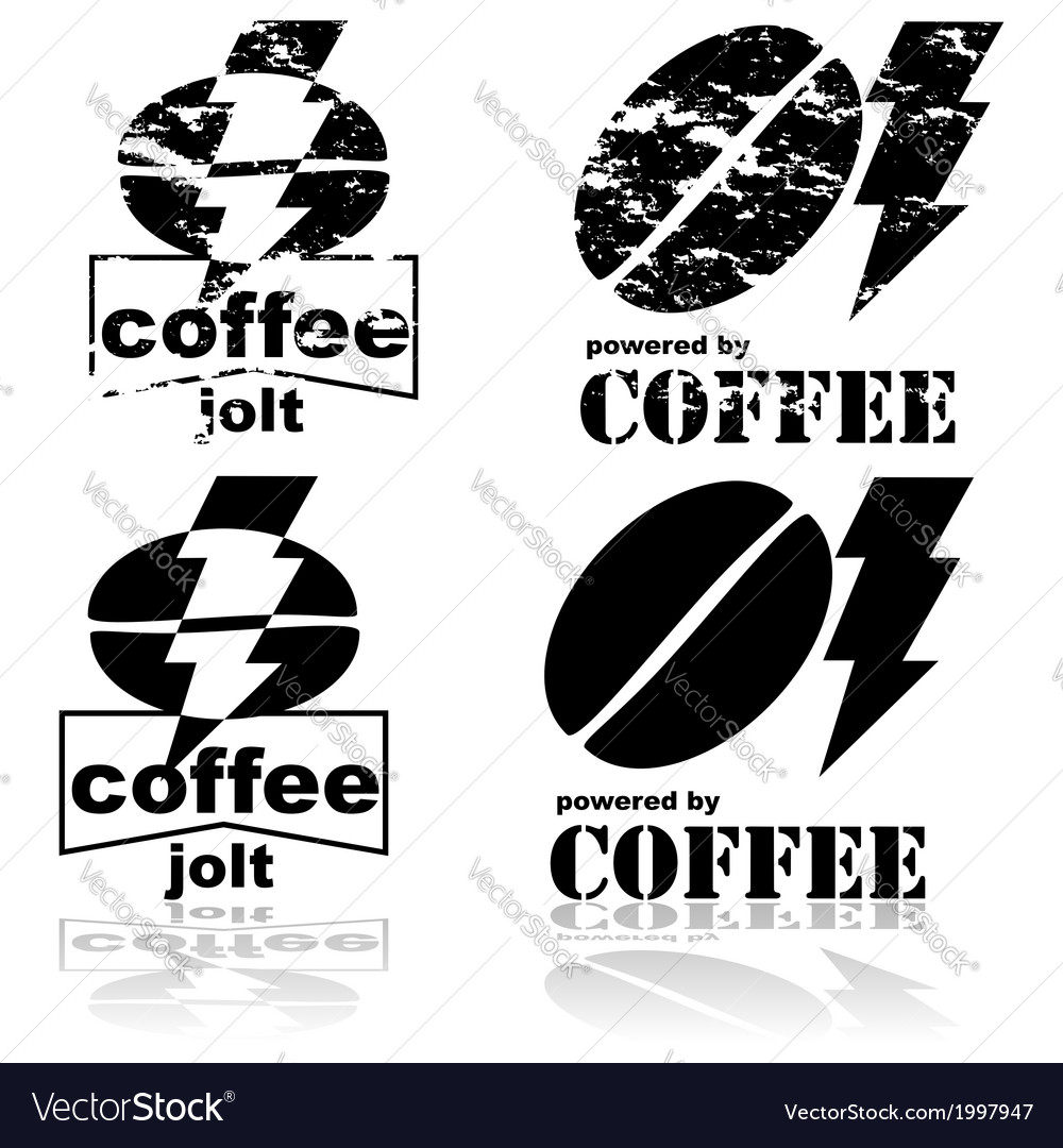 Coffee jolt vector | Price: 1 Credit (USD $1)