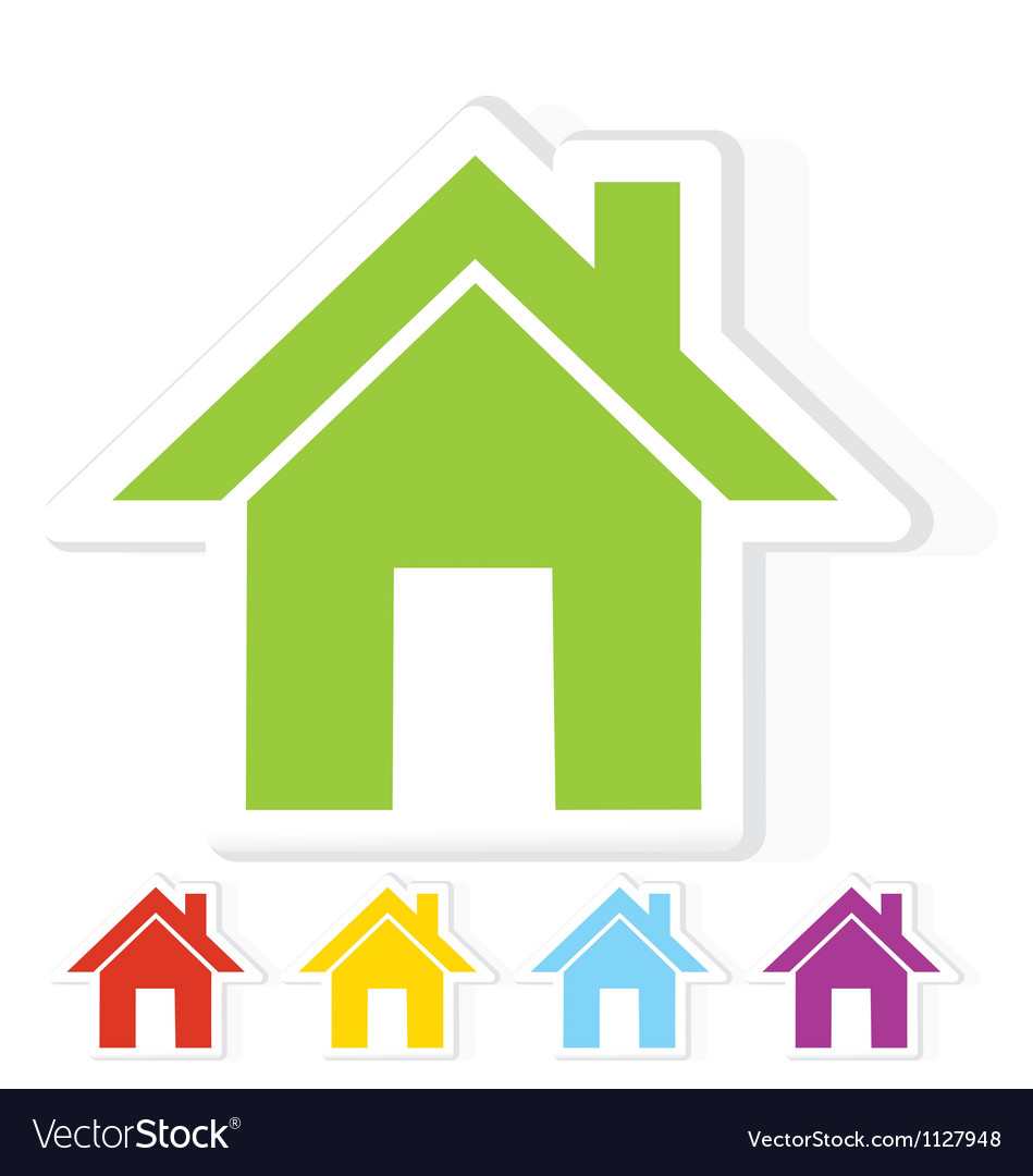 Home symbol vector | Price: 1 Credit (USD $1)