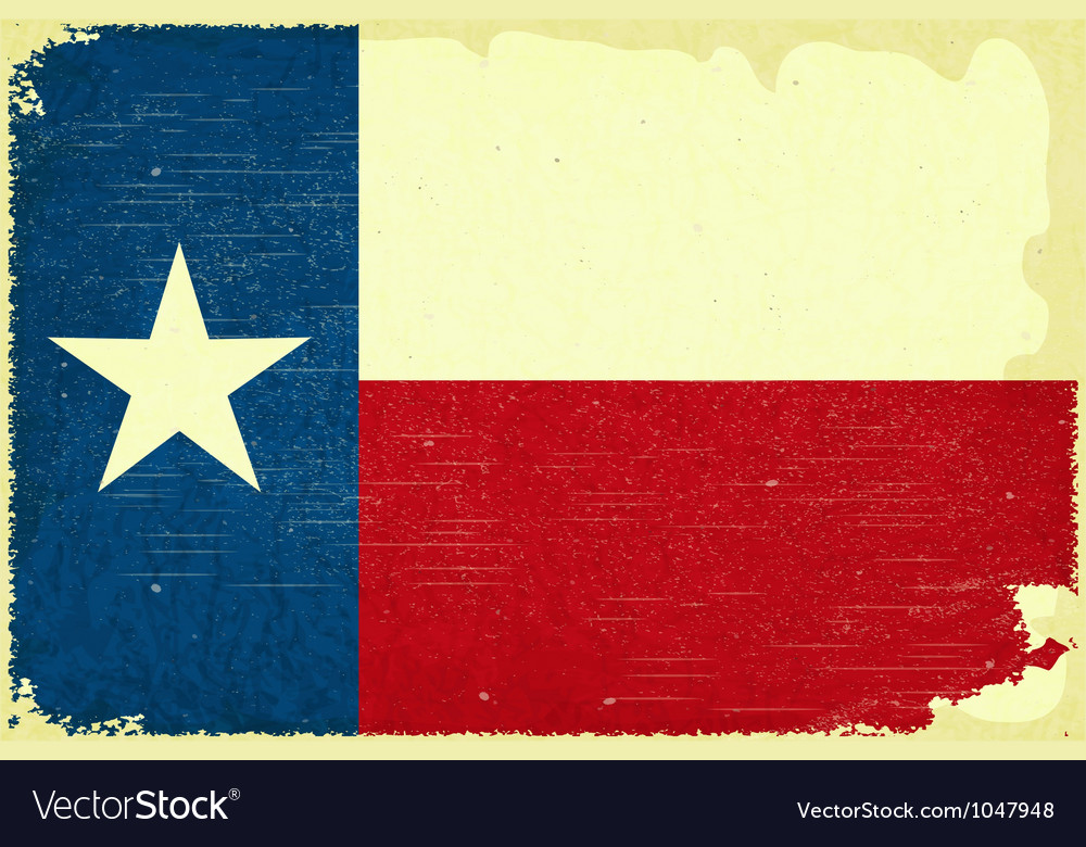 Texas flag vector | Price: 3 Credit (USD $3)