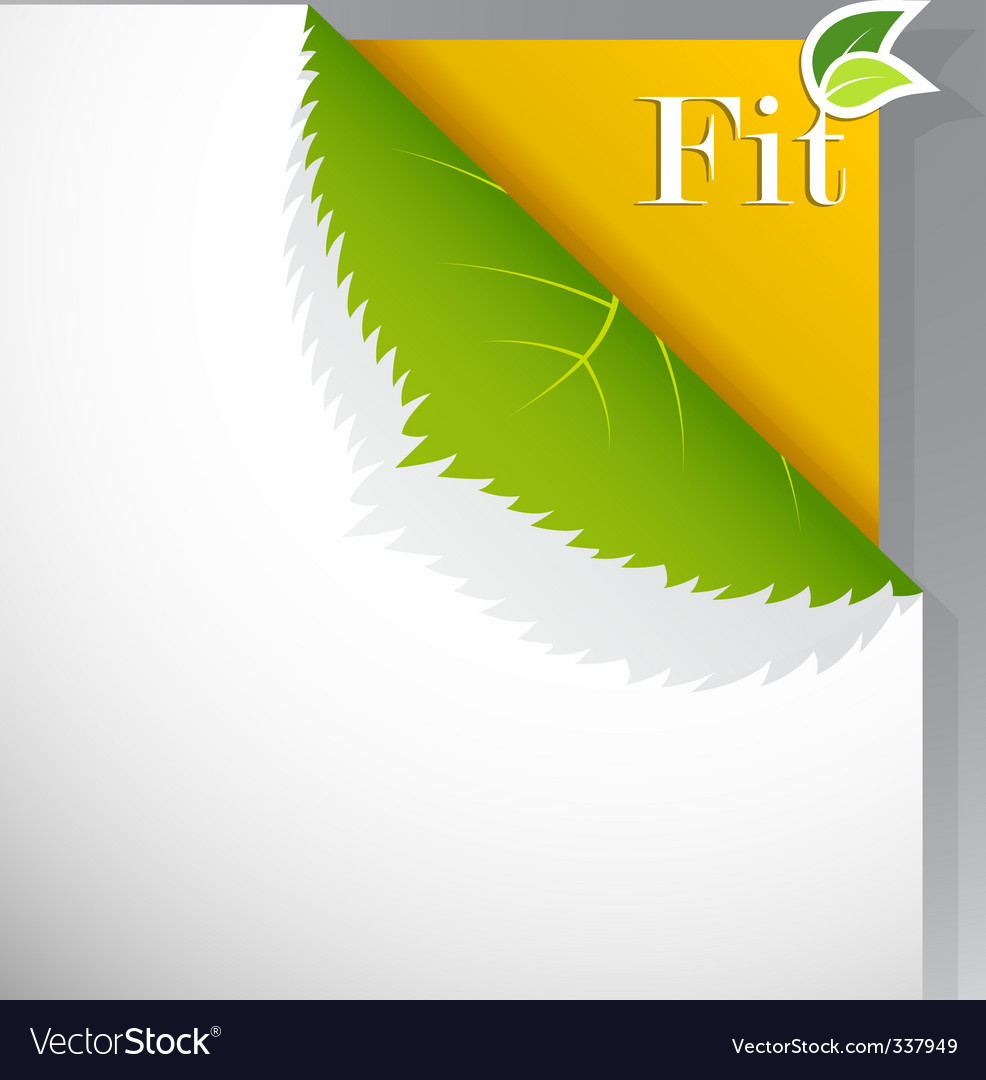 Ecology poster vector | Price: 1 Credit (USD $1)