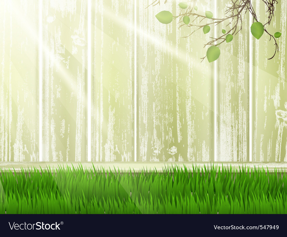 Green yard vector | Price: 1 Credit (USD $1)