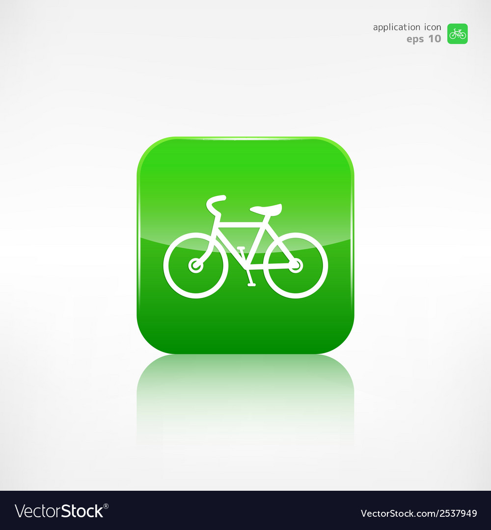 Hipster retro bicycle icon vector | Price: 1 Credit (USD $1)