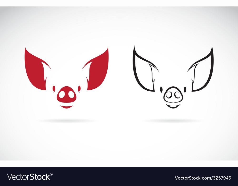 Pig head vector | Price: 1 Credit (USD $1)