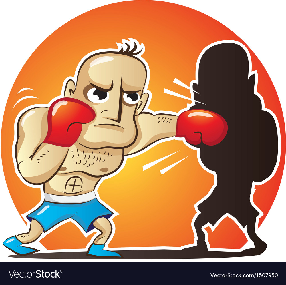 Cartoon boxer vector | Price: 1 Credit (USD $1)