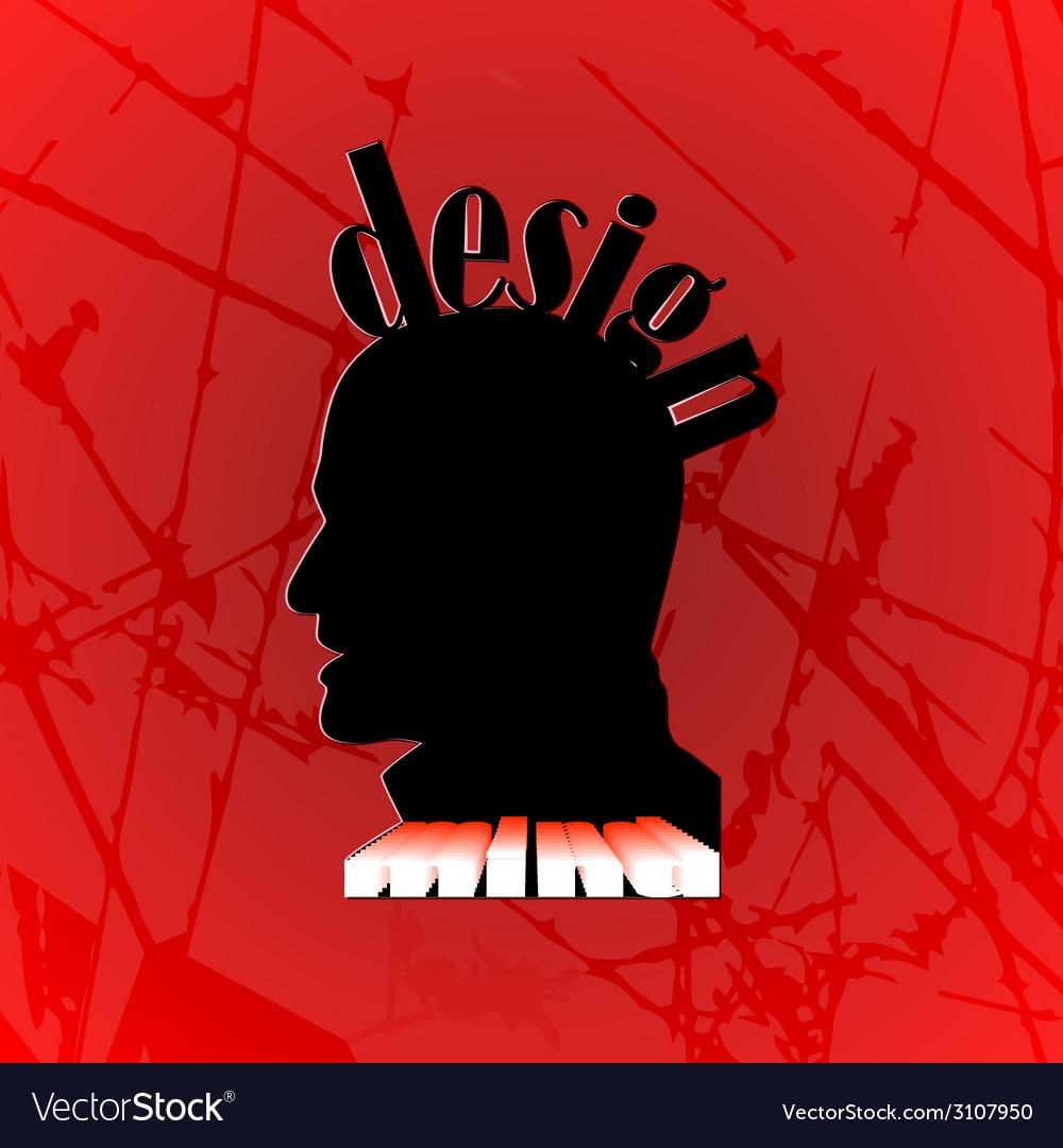Design mind vector | Price: 1 Credit (USD $1)