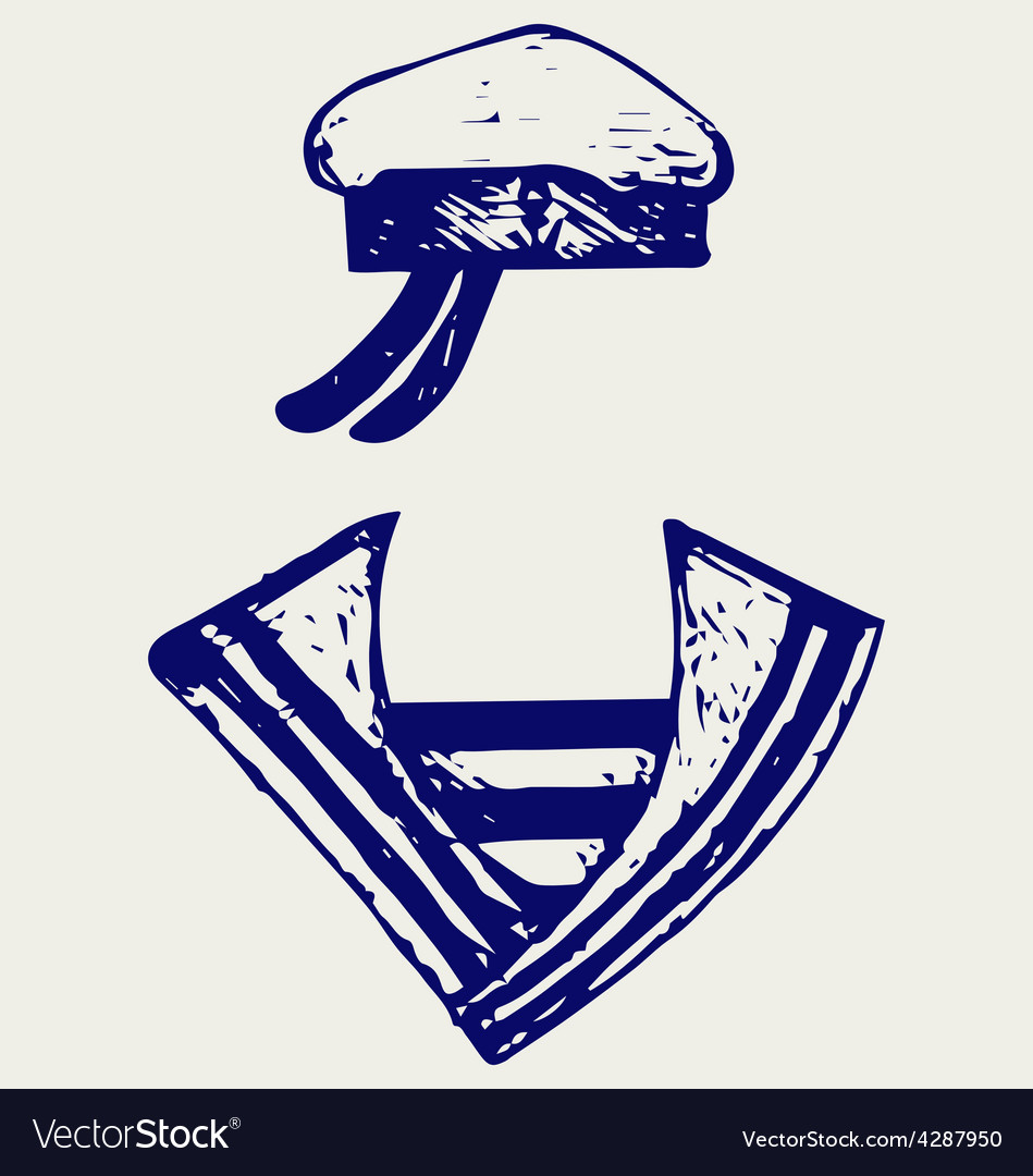 Sailor clothing vector | Price: 1 Credit (USD $1)