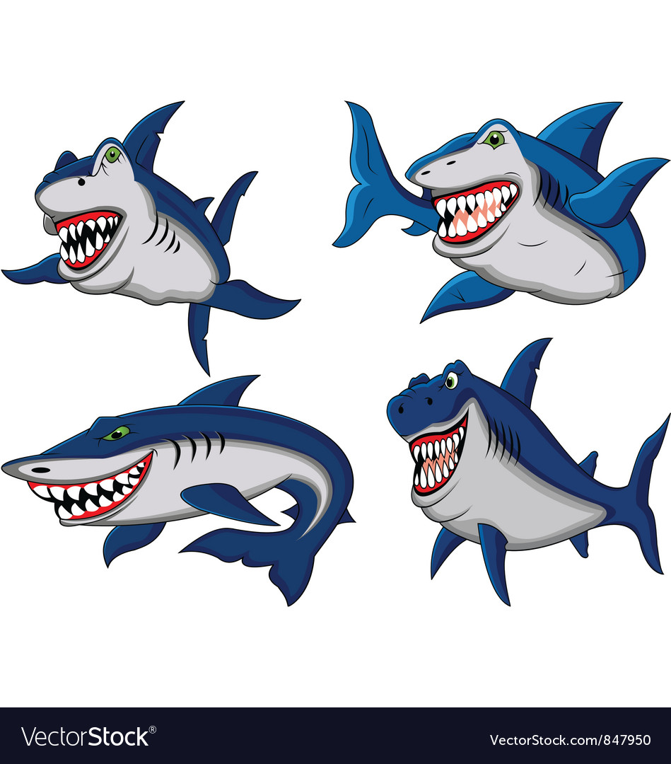 Shark collection vector | Price: 3 Credit (USD $3)