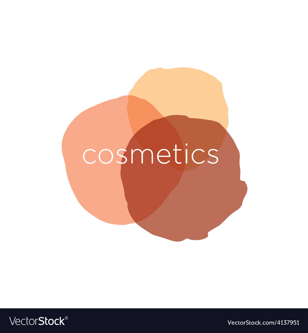 Abstract logo for cosmetics and beauty vector | Price: 1 Credit (USD $1)