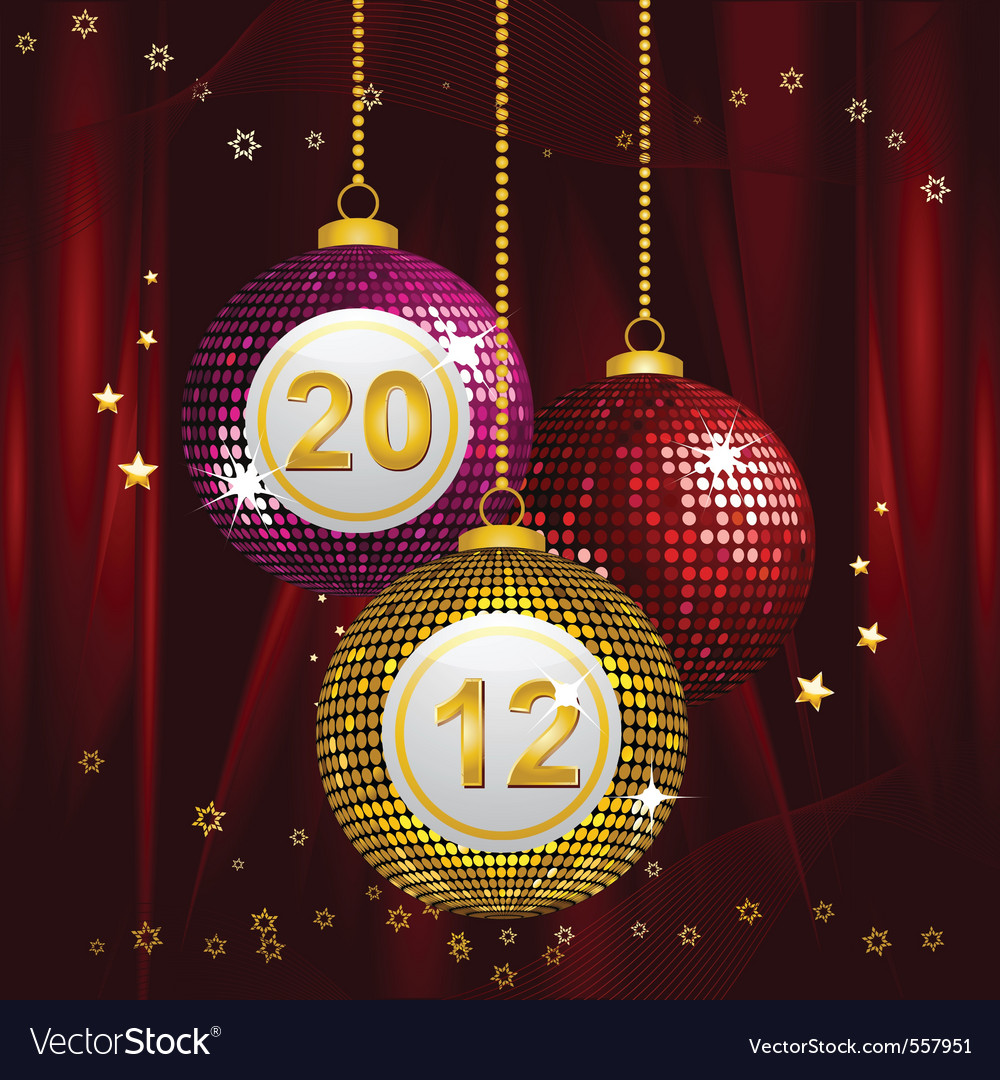 Festive new year vector   Price: 1 Credit (USD $1)