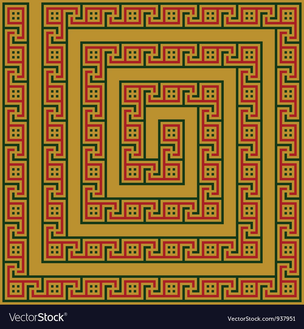 Greece maze ornament vector | Price: 1 Credit (USD $1)