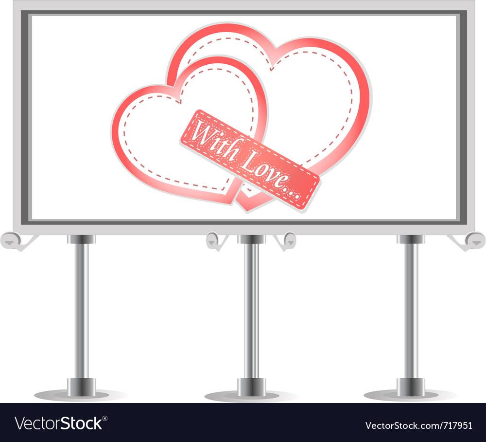 Outdoor billboard vector | Price: 1 Credit (USD $1)