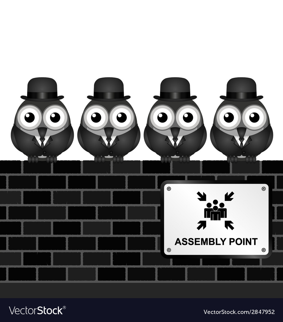 Assembly point vector | Price: 1 Credit (USD $1)