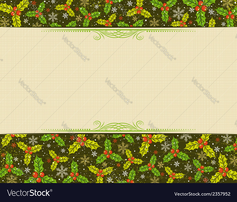 Beige background with christmas elements vector | Price: 1 Credit (USD $1)