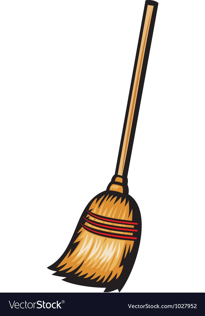 Broom vector | Price: 1 Credit (USD $1)