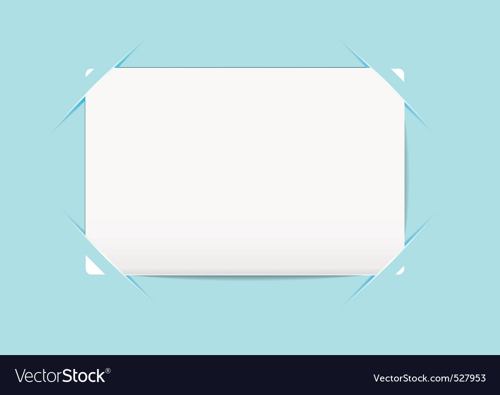 Business card blue holder vector | Price: 1 Credit (USD $1)
