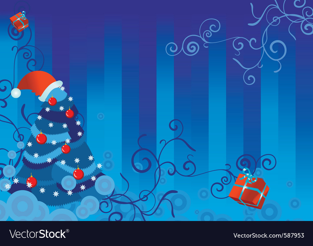 Christmas backdrop vector | Price: 1 Credit (USD $1)