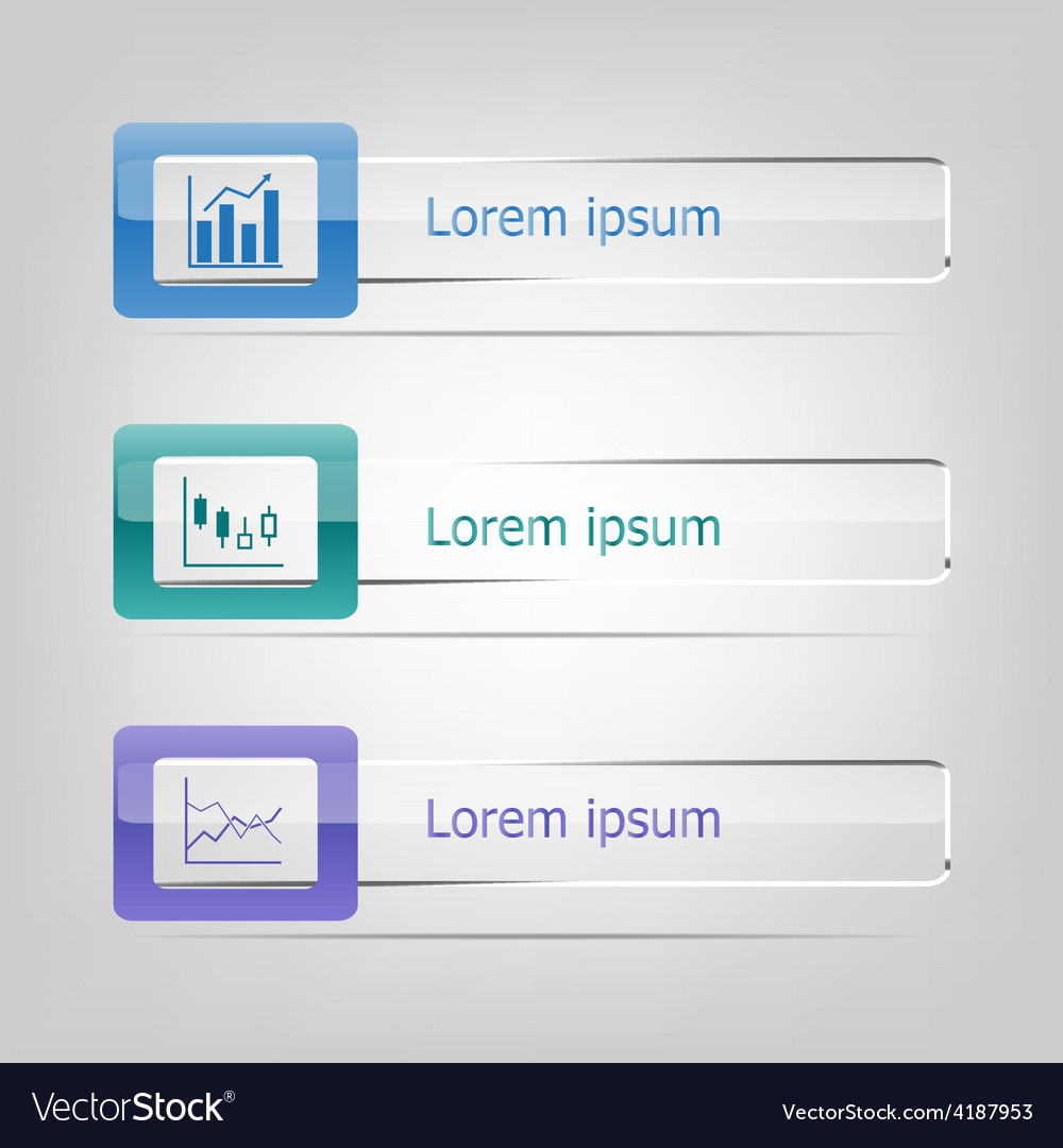 Set of banners infographic vector | Price: 1 Credit (USD $1)