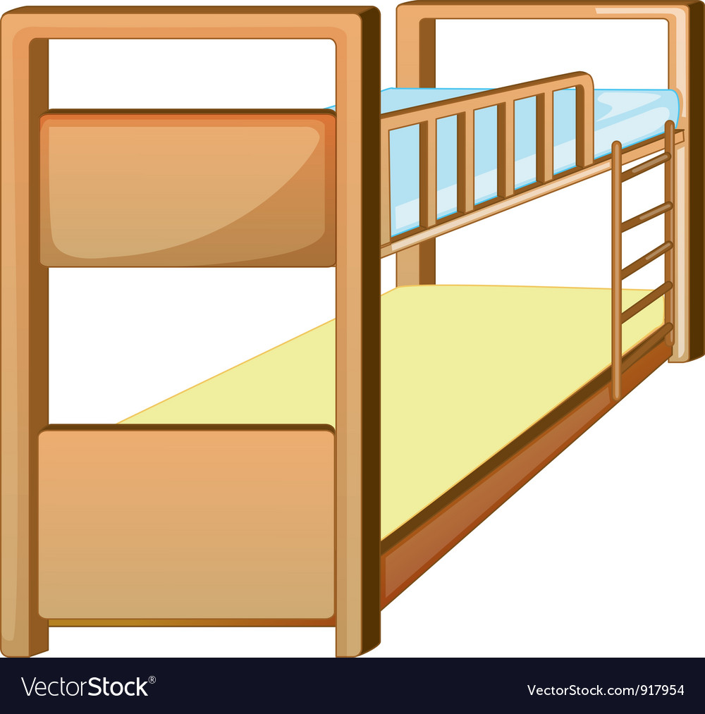 Bunk bed vector | Price: 3 Credit (USD $3)