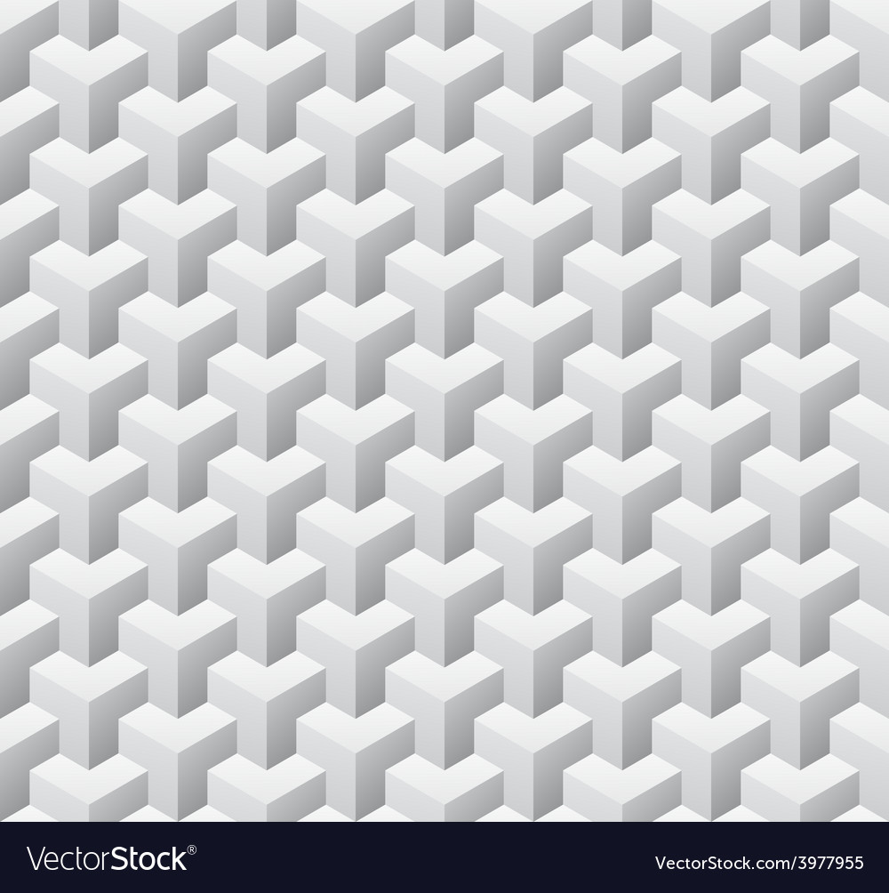 Cubic seamless pattern vector | Price: 3 Credit (USD $3)