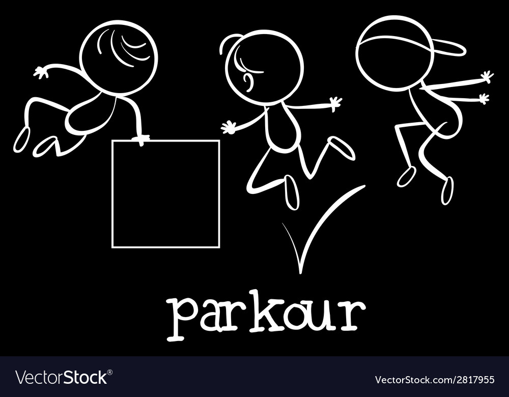 Parkour vector | Price: 1 Credit (USD $1)
