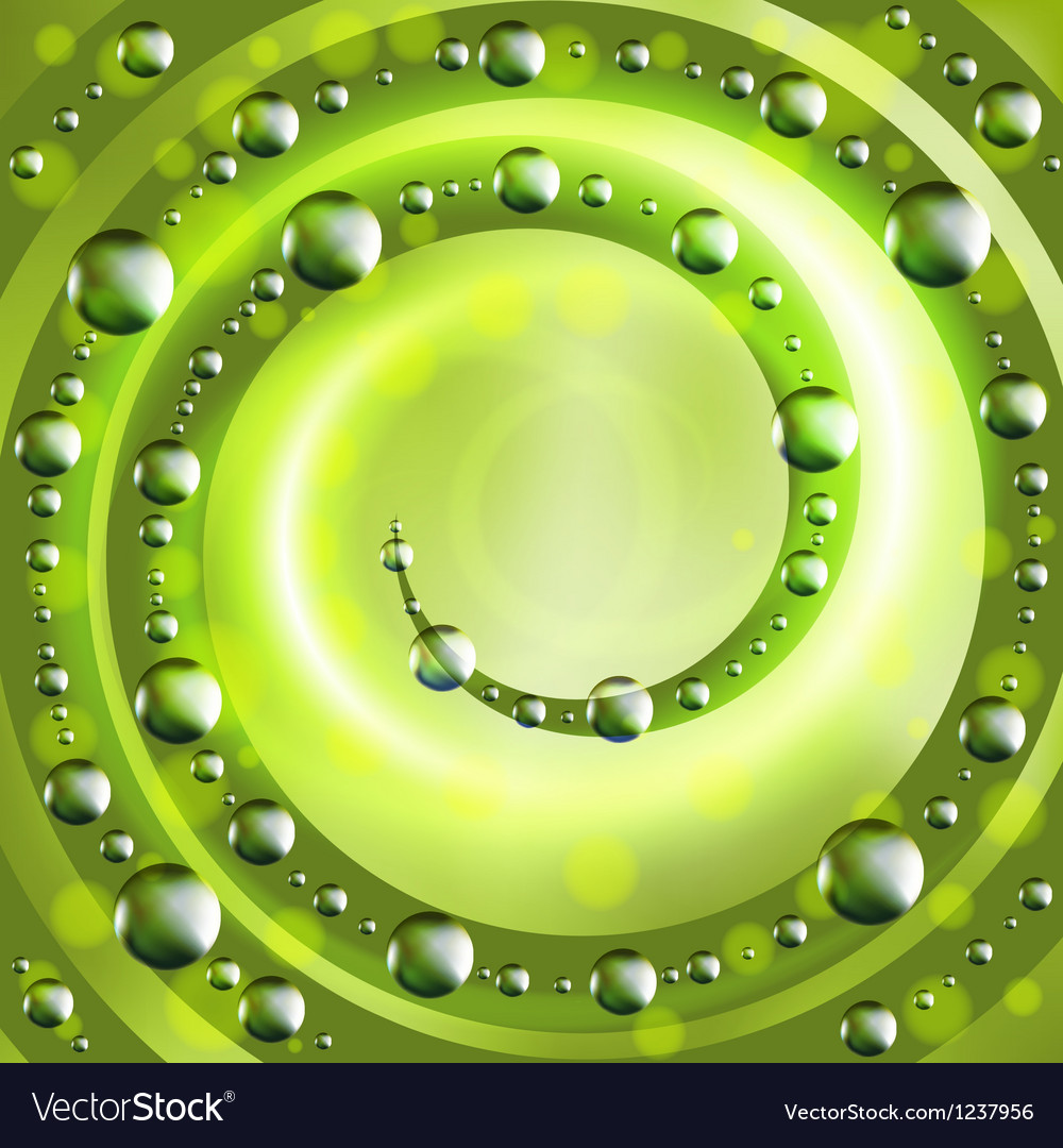 Abstract ecology green background vector | Price: 1 Credit (USD $1)