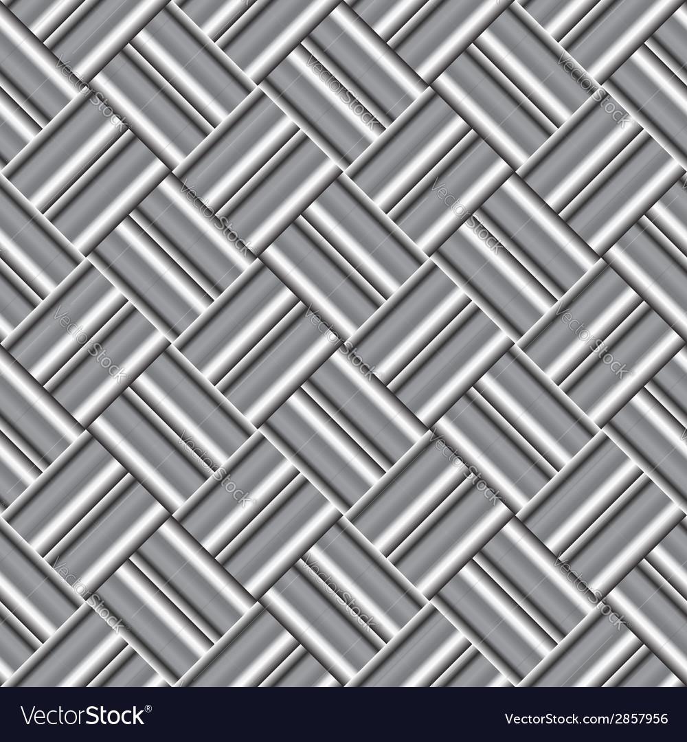 Design seamless monochrome metallic pattern vector   Price: 1 Credit (USD $1)