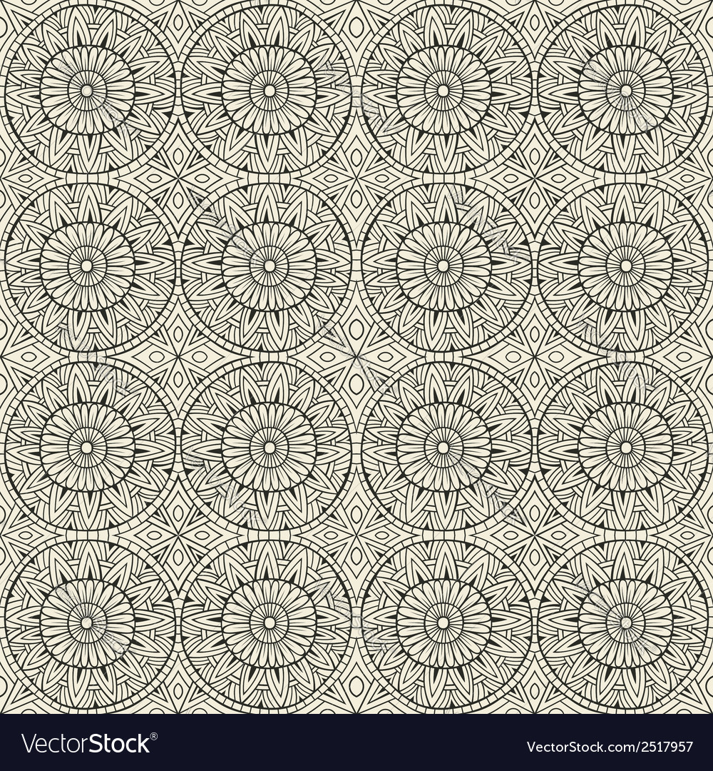 Ethnic modern hand drawn ornamental pattern vector | Price: 1 Credit (USD $1)