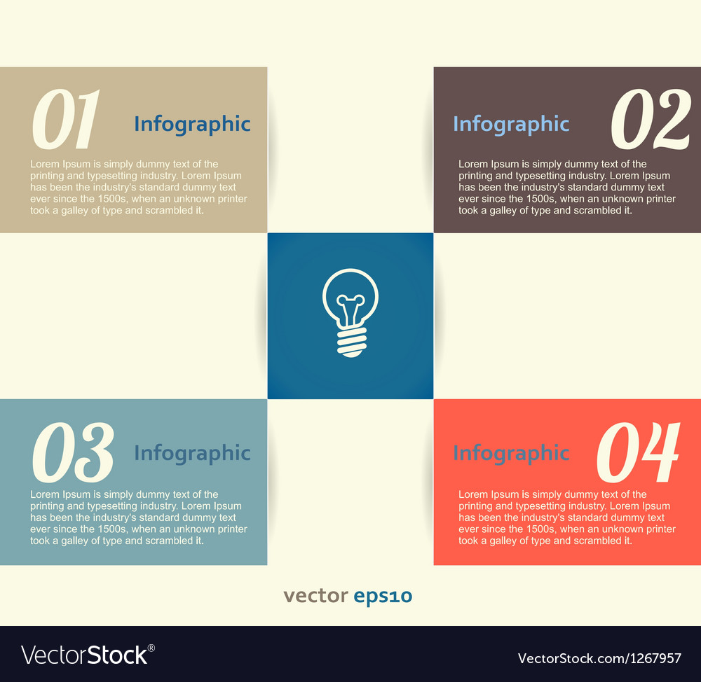 Infographic banner vector | Price: 1 Credit (USD $1)