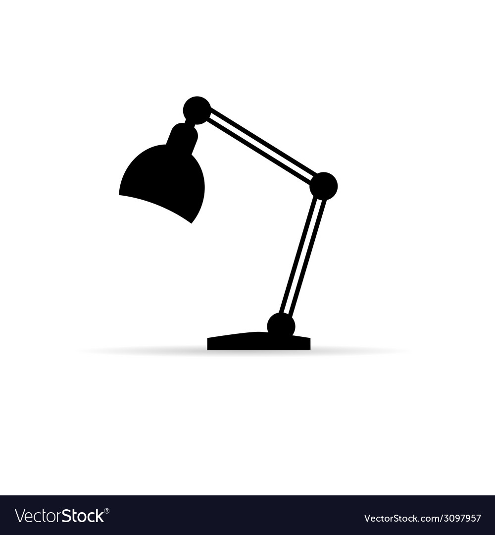 Lamp icon vector | Price: 1 Credit (USD $1)