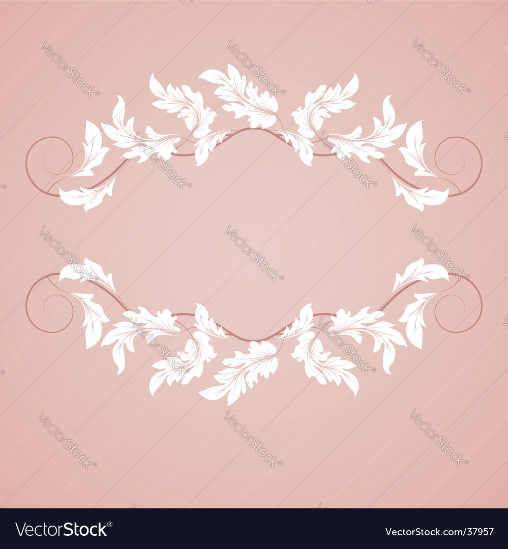 Leaf frame vector | Price: 1 Credit (USD $1)