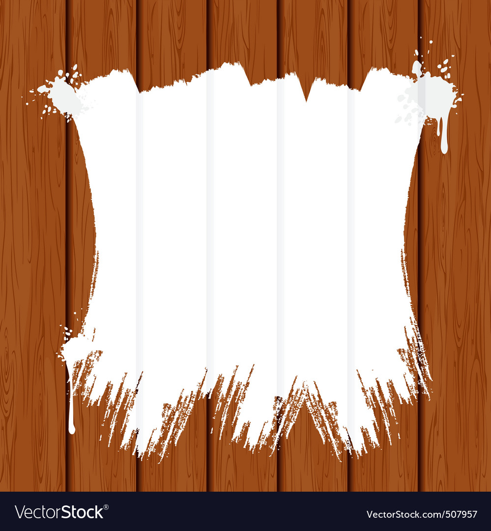 Painting wooden wall or fence vector | Price: 1 Credit (USD $1)
