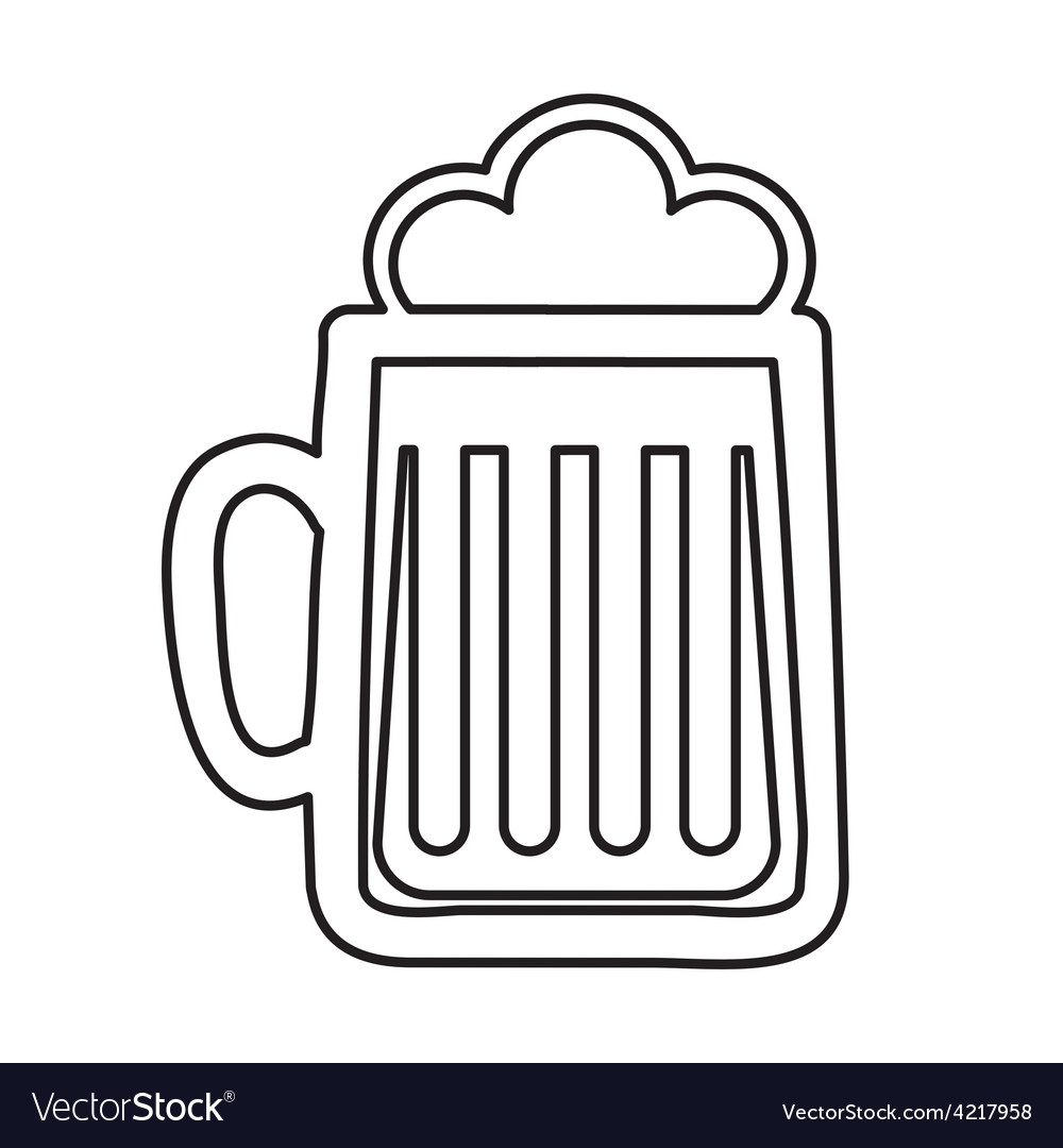 Beer glass vector   Price: 1 Credit (USD $1)