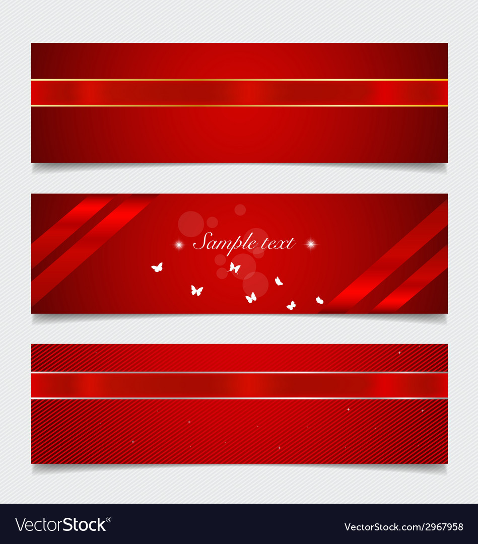 Card note with ribbons vector   Price: 1 Credit (USD $1)