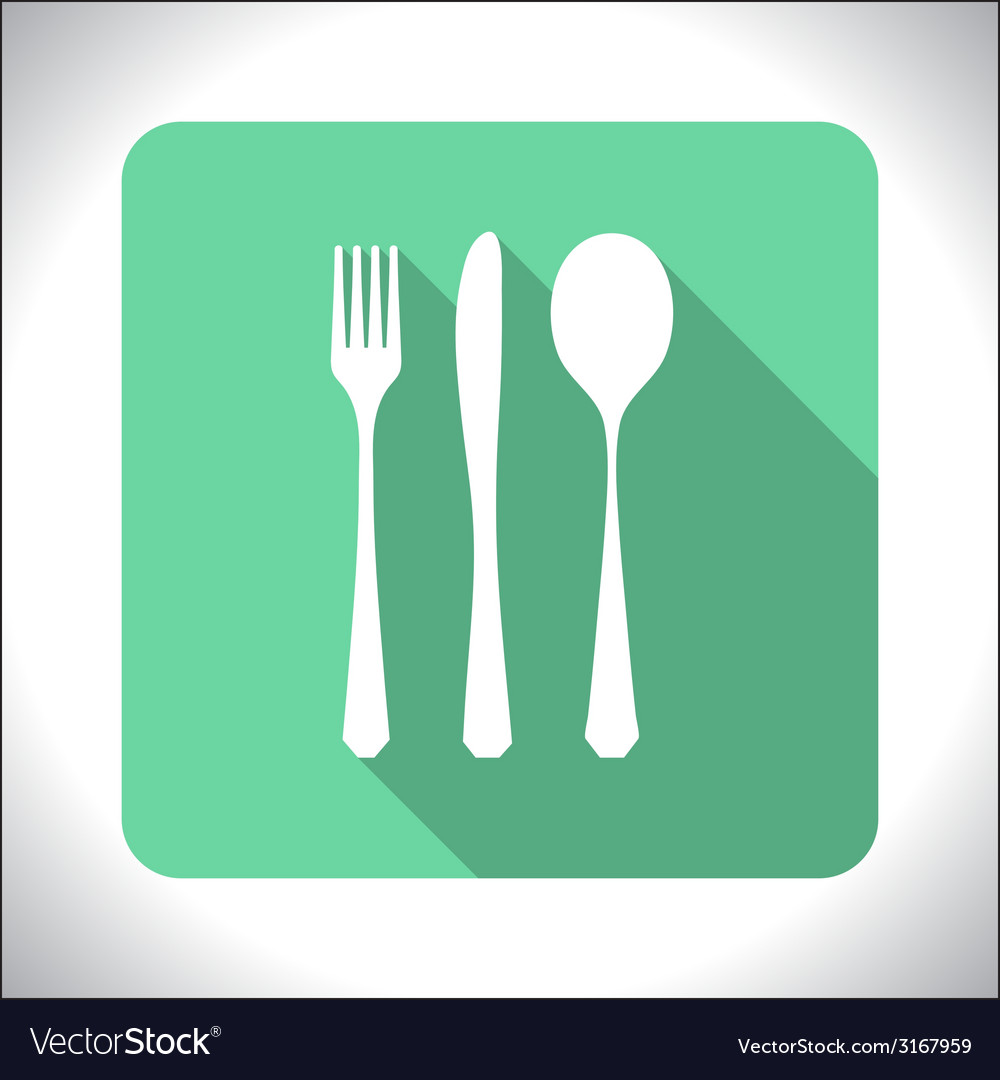 Cutlery icon vector | Price: 1 Credit (USD $1)