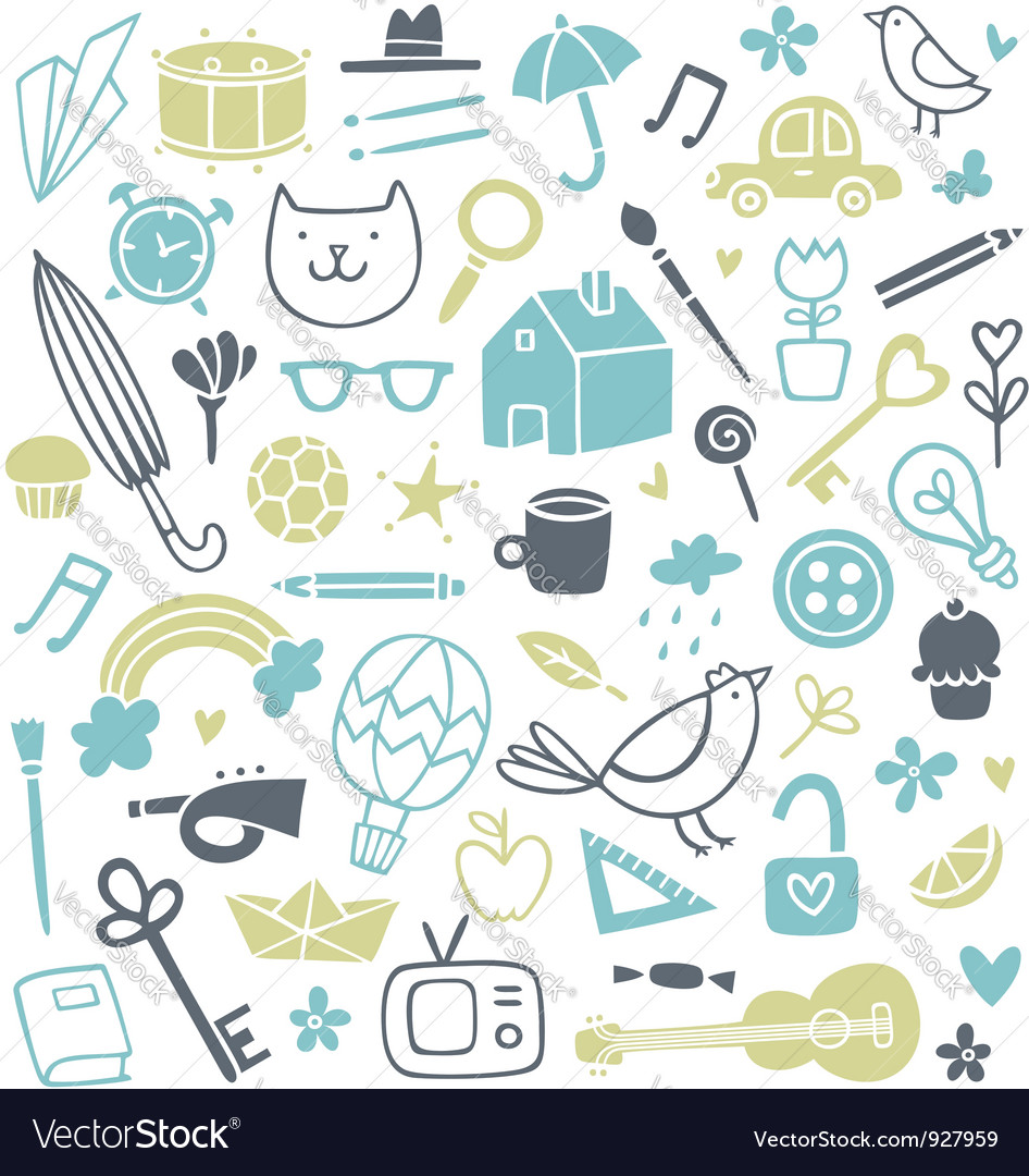 Doodle clip art vector | Price: 1 Credit (USD $1)