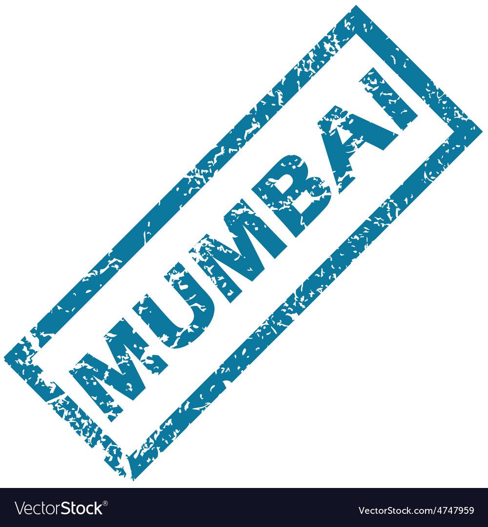 Mumbai rubber stamp vector | Price: 1 Credit (USD $1)