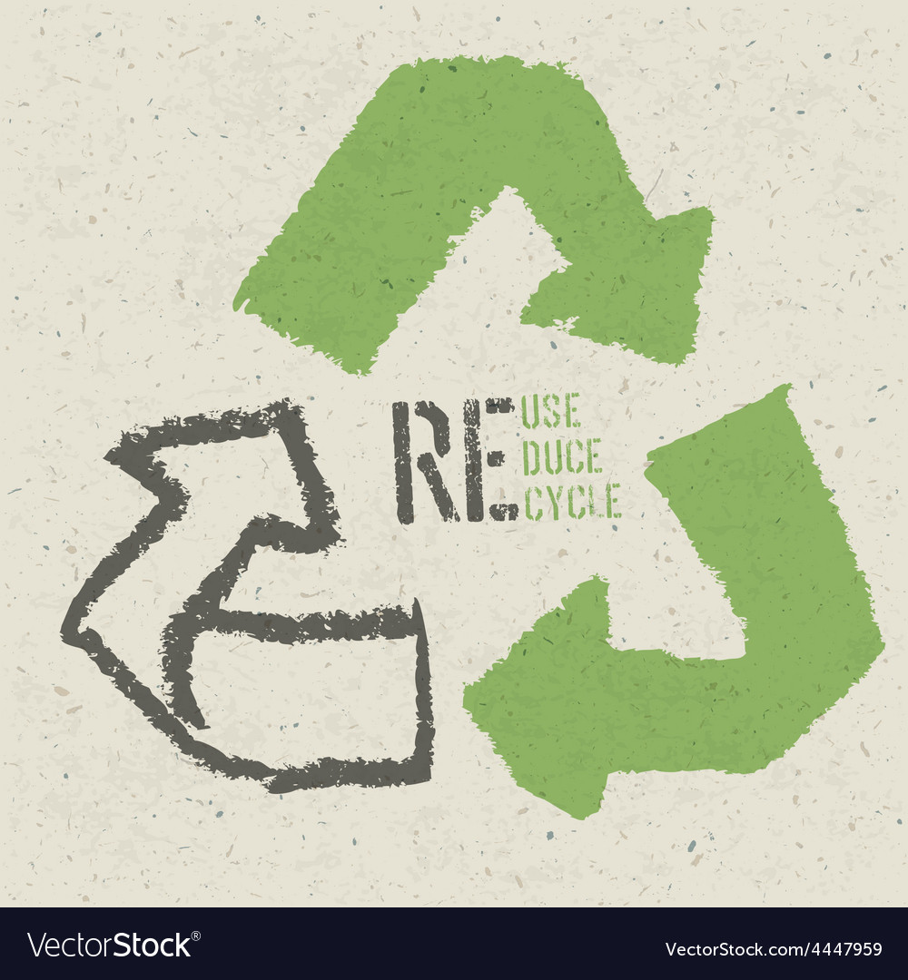 Reuse grunge poster vector   Price: 1 Credit (USD $1)