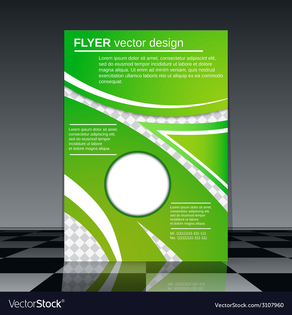 Business flyer template vector | Price: 1 Credit (USD $1)